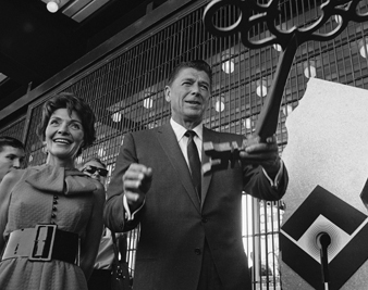 Gov. Ronald Reagan and wife, Nancy, opening the California State Fair, 1968 WALT ZEBOSKI/AP IMAGES